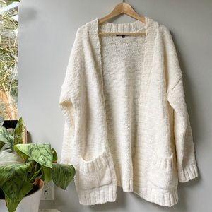 Sanctuary Ivory Cardigan Sweater